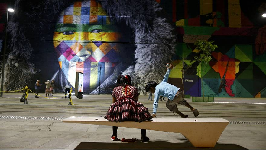 Rio gets arty for Olympics!