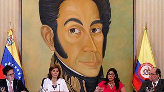 Venezuela-Kolombiya 'sınır'da anlaşmak üzere