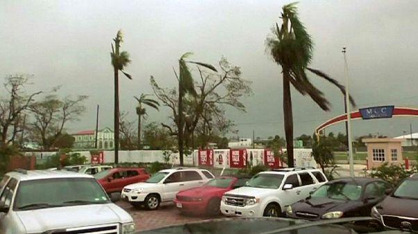 Tempête tropicale au Belize
