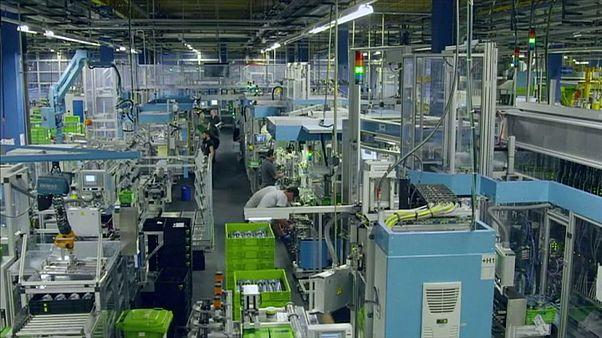 افت سفارشات صنعتی آلمان