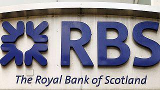 Royal Bank of Scotland com resultados negativos