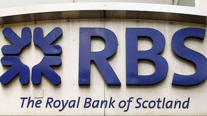 Újabb veszteséges félév a Royal Bank of Scotlandnél