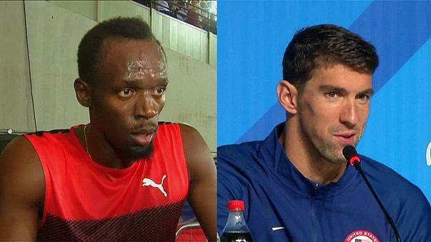 Olimpiyatlar'ın 2 devi: Bolt ve Phelps
