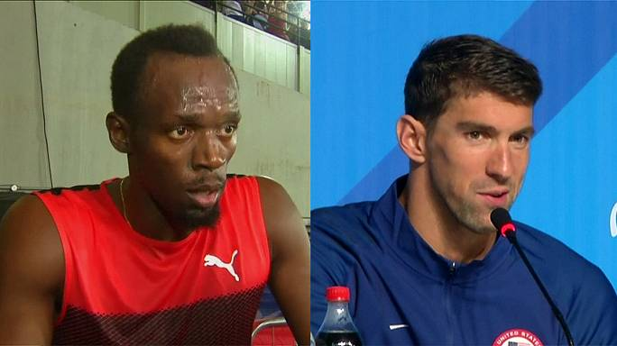 Legends Bolt and Phelps bidding to make history in Rio