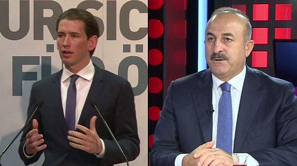 Словесная война между Турцией и Австрией набирает обороты