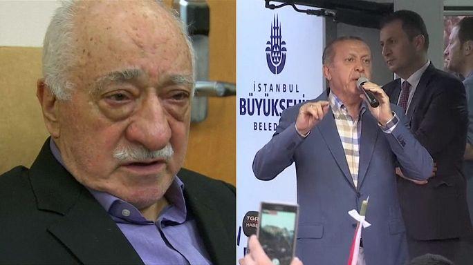 Turquia: Continua o braço-de-ferro entre Erdogan e Gulen