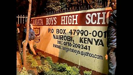 [Video] A fresh school fire recorded in Kenya's capital, Nairobi