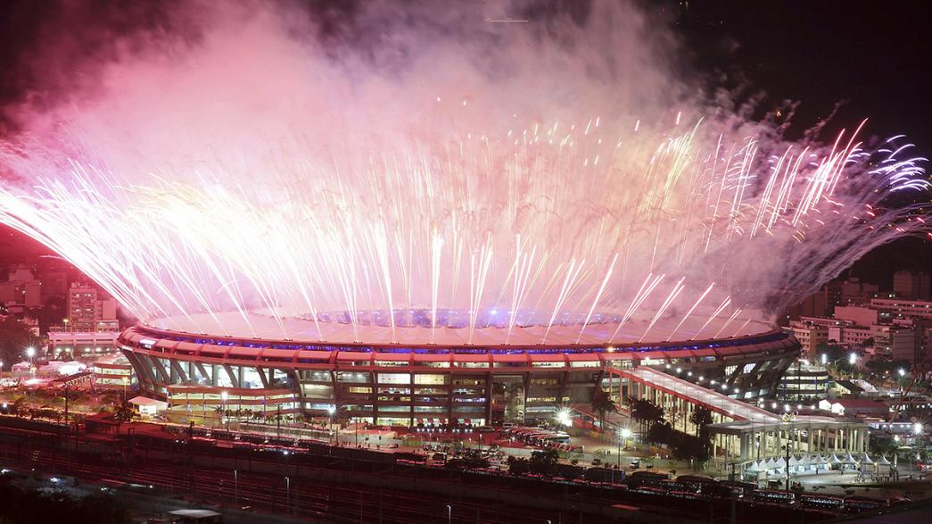 Rio 2016 Olimpiyatları'na görkemli açılış