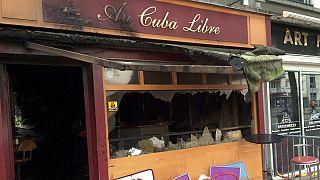 Pusztító tűz egy francia bárban