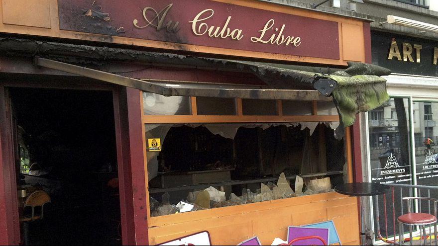 França: Incêndio mortal em Rouen