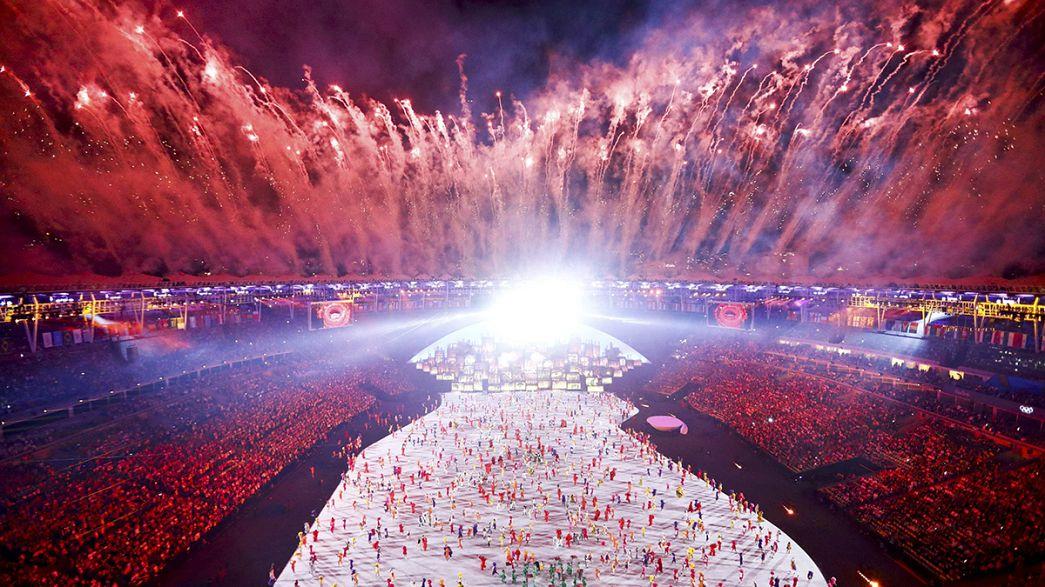 Rio 2016 Yaz Olimpiyatları başladı