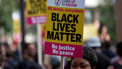 Black Lives Matter protests disrupt the UK