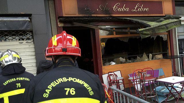 """فرنسا: مقتل 13 شخصا جراء حريق في حانة بمدينة """"روان"""""""