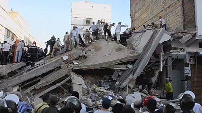 Effondrement d'un immeuble au Maroc : deux morts et une disparue (nouveau bilan)