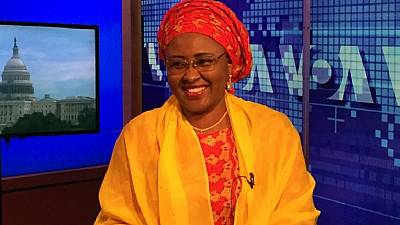 Mrs Buhari justifies dragging state governor to court over defamation