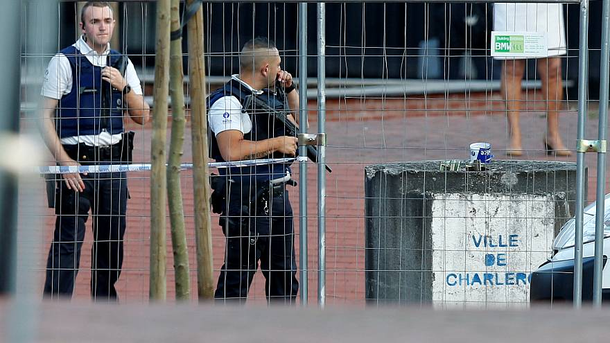 Belgium machete attack: two policewomen wounded, assailant killed