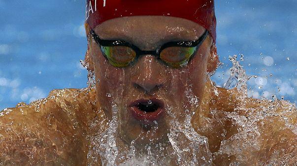 Britain's Adam Peaty sets world record in heats