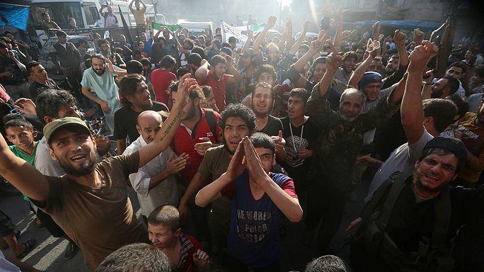 المعارضة السورية المسلحة تفك الحصار عن أحياء حلب الشرقية
