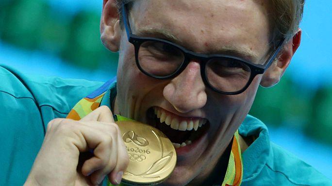 Erkekler 400 metrede Mack Horton altın madalyaya ulaştı