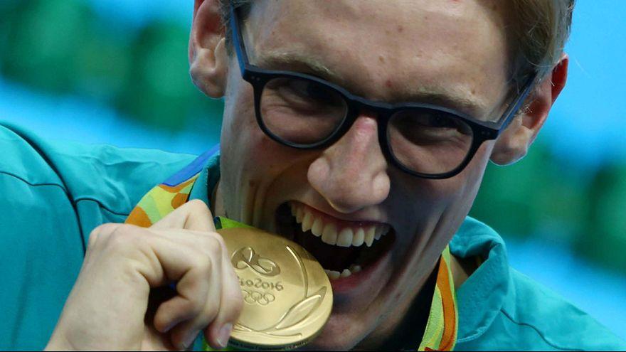 El australiano Mack Horton logra el oro en los 400 libres de natación