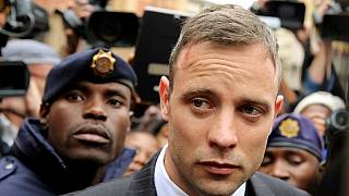 Pistorius gets treated for minor wrist injuries over 'suicide attempt'