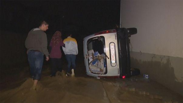 Flash floods and mudslides kill at least 20 in Skopje