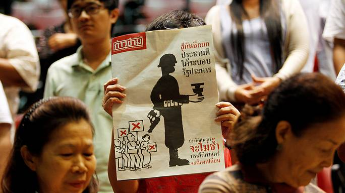 تايلاند: اثنان وستون في المئة من الناخبين صوتوا بالموافقة على الدستور الجديد