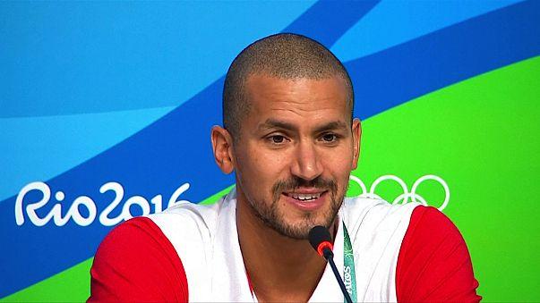 Oussama Mellouli, a por su cuarta medalla olímpica