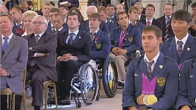 Russian athletes banned from September's Paralympic games
