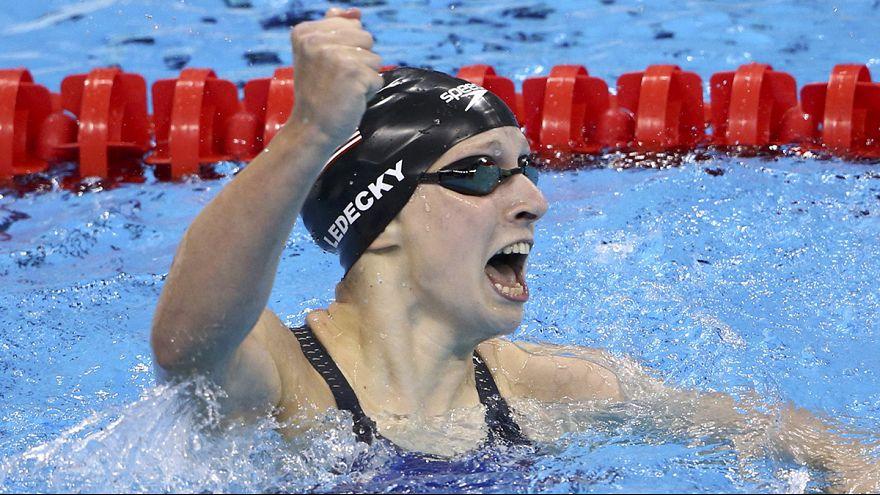 Katie Ledecky gewinnt Olympia-Gold über 400 Meter Freistil