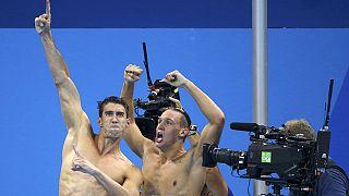 مایکل فلپس اولین طلای خود را در المپیک ریو به گردن آویخت