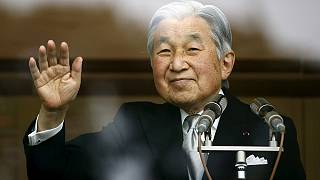 Japanese Emperor Akihito hints at wish to step down because of old age