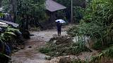 "Tropensturm ""Earl"" wütet über Mexiko"