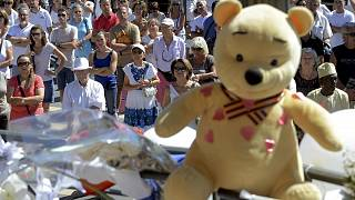 Nizza: Gedenkfeier für Anschlagopfer