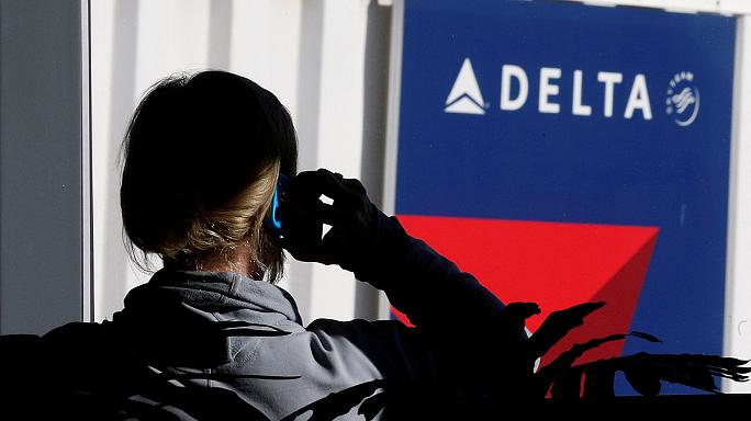 Delta Airlines flights grounded in the US