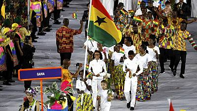 [Photos] Colourful Africa parades at the Rio Olympics (West Africa)