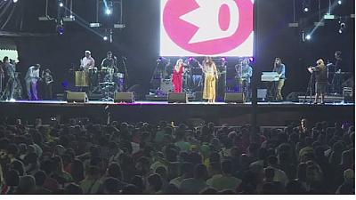 Spectators thrilled by Rio concerts