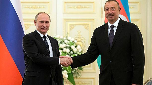 Putin in Baku for talks with Azerbaijan and Iran