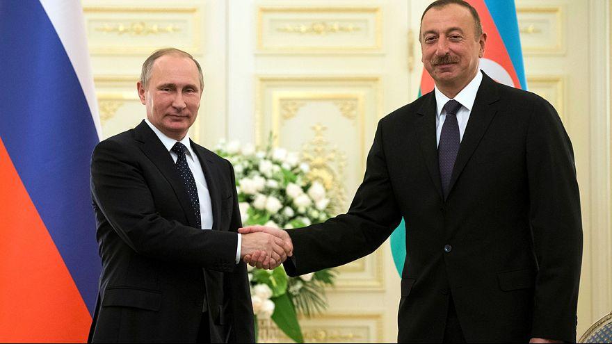 Putin inaugura trilaterale Mar Caspio con Azerbaijan e Iran, domani vede Erdogan