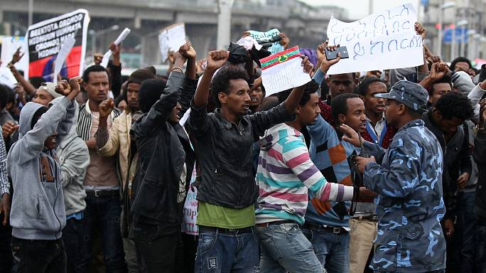 Ethiopian security forces kill scores of people in weekend of protests