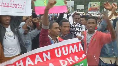 Repression sanglante de manifestants en Éthiopie