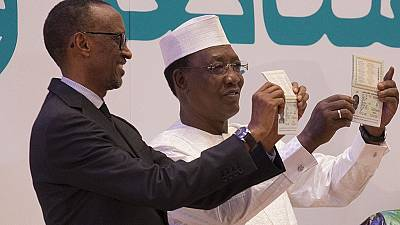 [Photos] Rwanda's Kagame travels with his African passport, guess where to?