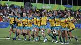 Australia wins gold in women's rugby sevens at Rio