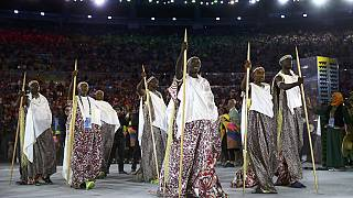 [Photos] Colourful Africa parades at the Rio Olympics (East Africa)