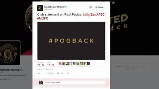 Official: Pogba rejoins Manchester United