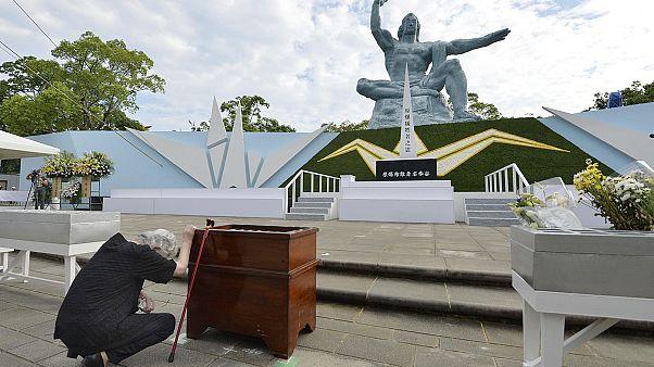 Los japoneses conmemoran el 71 aniversario del bombardeo atómico en Nagasaki