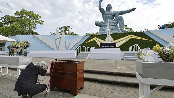 یادبود قربانیان بمباران اتمی ناگازاکی