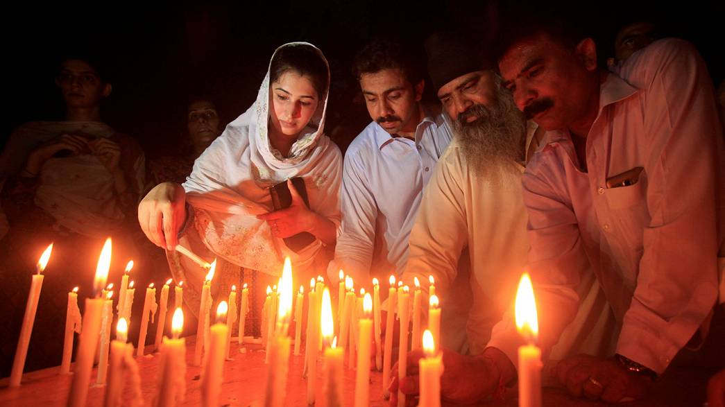 Pakistan'da öfke ve acı