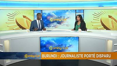 Burundi : Un journaliste porté disparu [The morning Call]