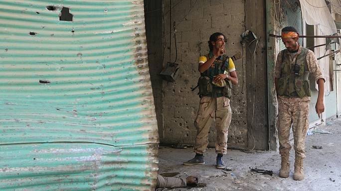 Halep'te içme suyu sıkıntısı ciddi boyutlara ulaştı